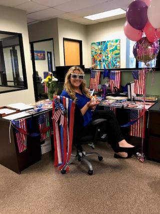 Lindsey Birthday 1